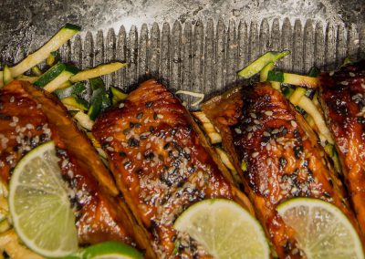 Grilled Sea Bass With Chili